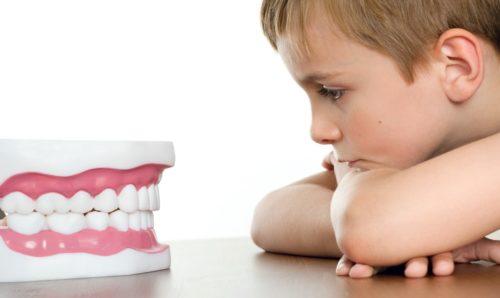 Лечение молочных зубов без боли