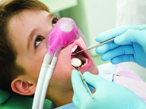 Лечение под анестезией в детской стоматологии
